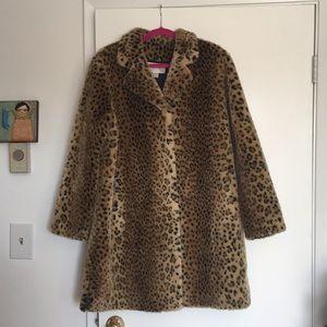 Vintage Worthington Thick Leopard Coat
